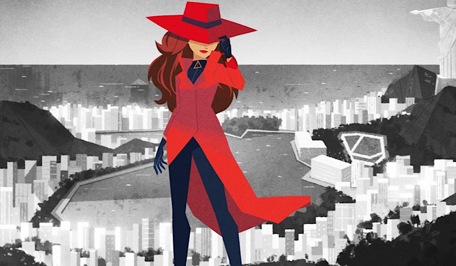 Hollywood Insider Carmen Sandiego Review, Netflix Animation, Gina Rodriguez