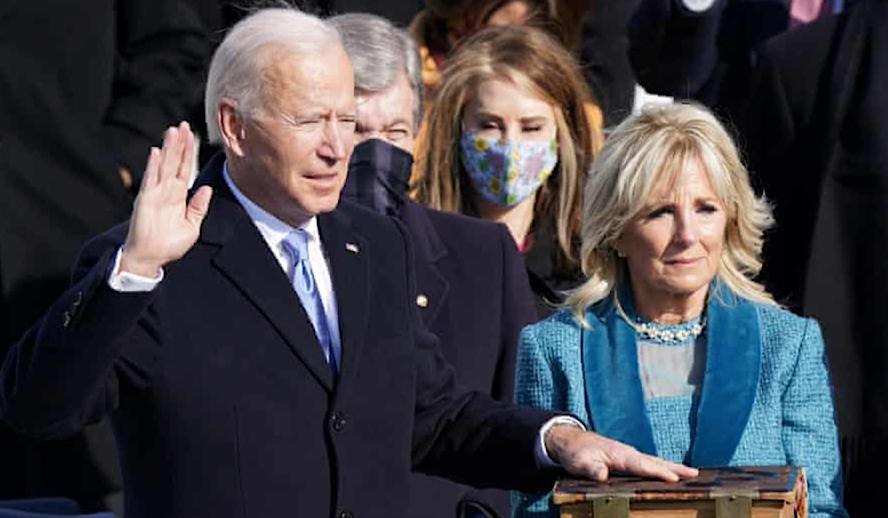Hollywood Insider Inauguration Day 2021, President Joe Biden, Vice-President Kamala Harris, USA