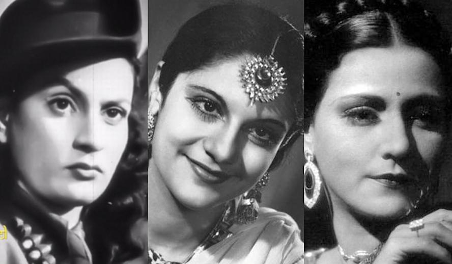 Hollywood Insider Jewish Bollywood Actresses, Nadira, Pramila, Sulochana