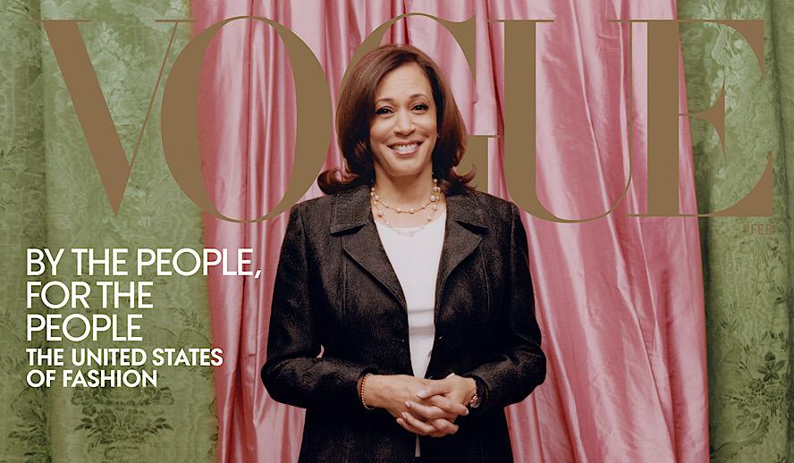 Hollywood Insider Kamala Harris Vogue Cover