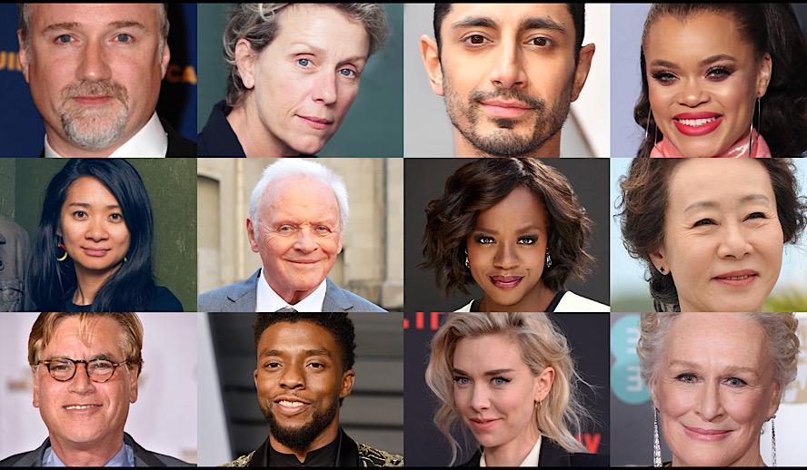Hollywood Insider Oscar Predictions 2021, Best Director, Best Actress, Best Actor, Best Film, Best Supporting Actors