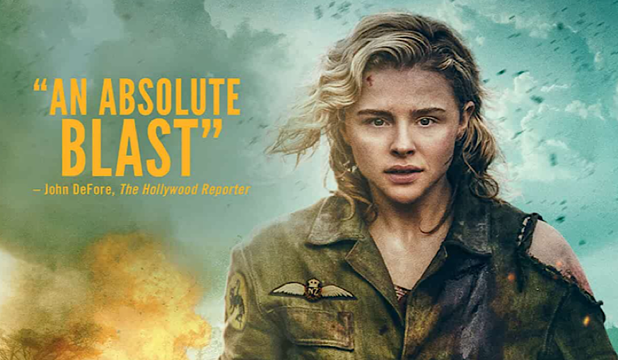 Hollywood Insider Shadow in the Cloud Review, Chloe Grace Moretz