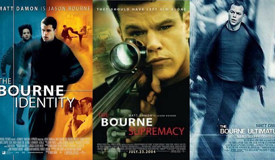 Hollywood Insider The Bourne Series, Best Trilogy, Matt Damon