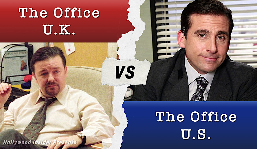 Hollywood Insider The Office USA vs The Office UK
