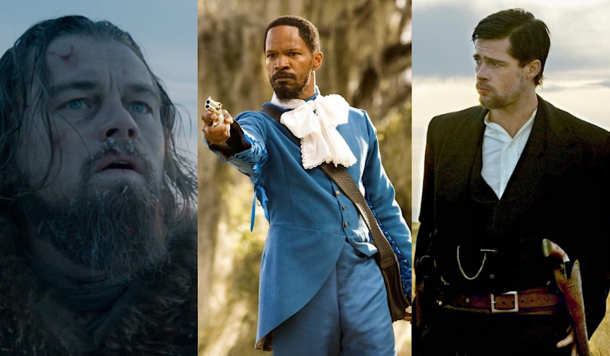 Hollywood Insider 7 Modern Westerns, Movies, The Revenant, Django Unchained, Jesse James