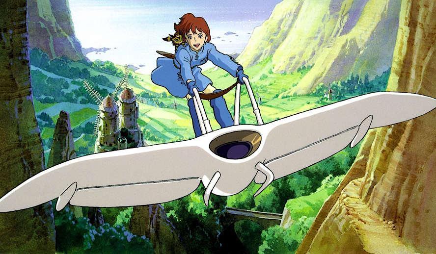 Hollywood Insider Nausicaa of the Valley of the Wind Review, Miyazaki