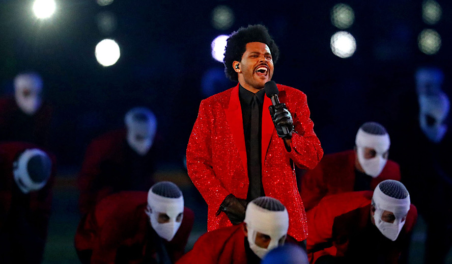 Hollywood Insider The Weeknd Super Bowl Halftime Show