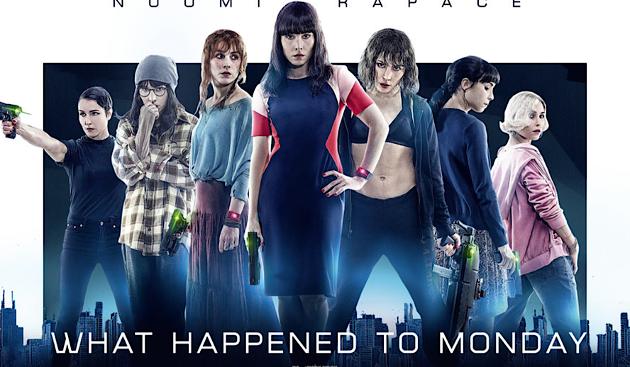 Hollywood Insider What Happened to Monday Review, Netflix, Noomi Rapace