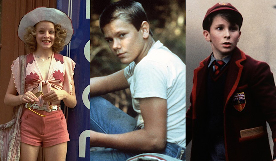 Hollywood Insider Best Performances from Young Actors, Jodie Foster, River Phoenix, Christian Bale