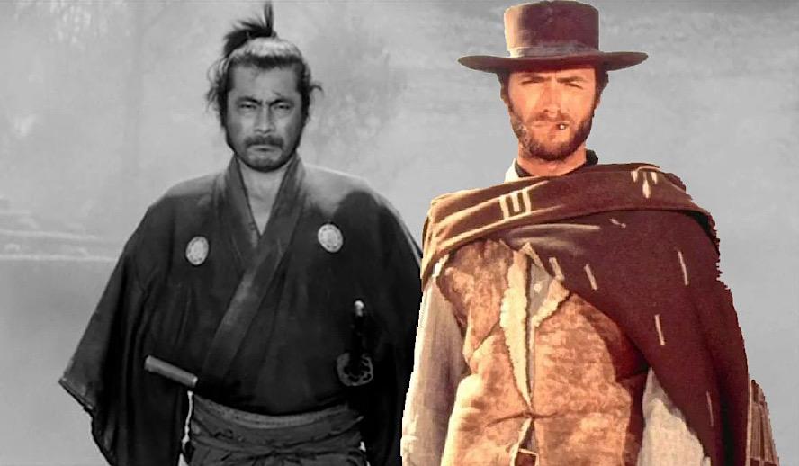 Hollywood Insider Cowboys and Samurai, Genre Analysis, Yojimbo, A Fistful of Dollars