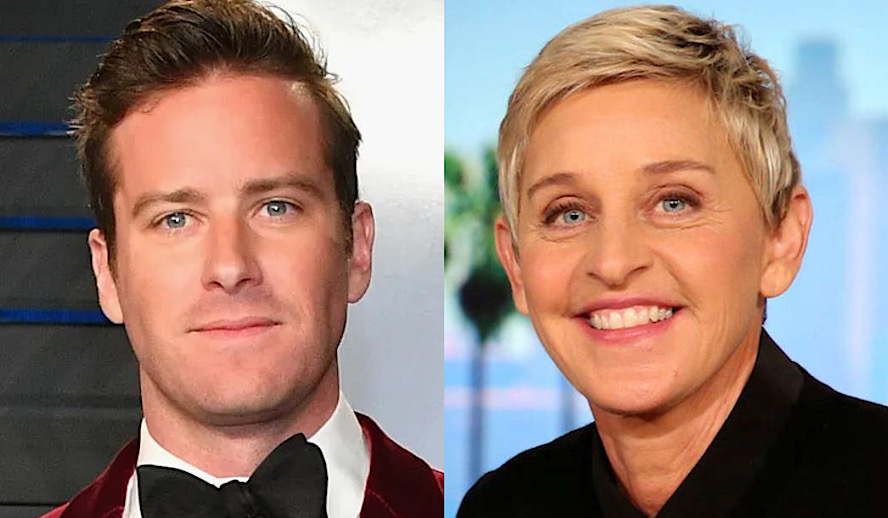 Hollywood Insider Harmful Celeb Culture, Armie Hammer, Ellen Degeneres
