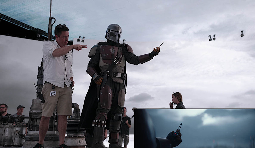 Hollywood Insider Mandalorian and Stagecraft VFX, LEDs are New Green Screen