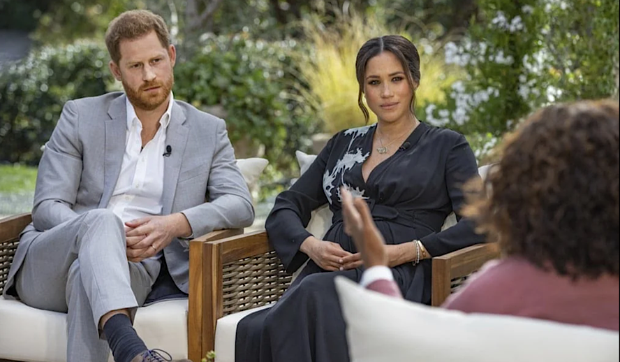 Hollywood Insider Meghan Markle and Prince Harry, Oprah Interview, CBS