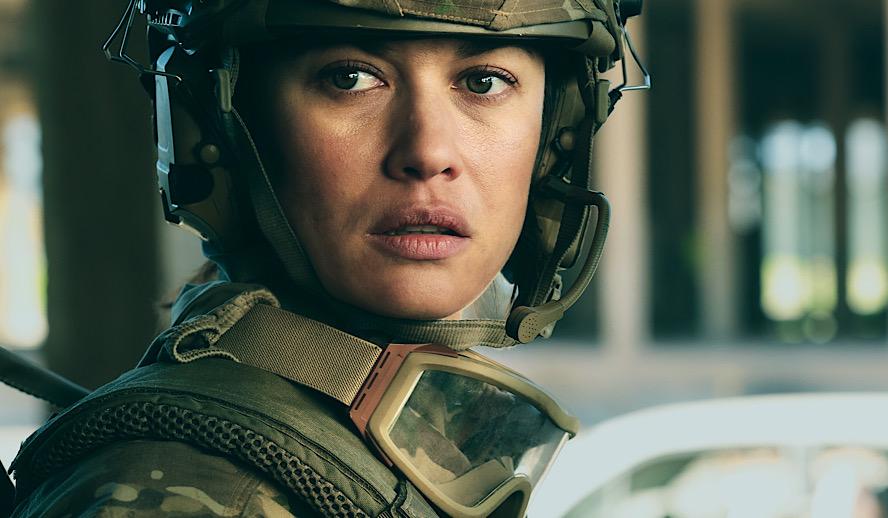 Hollywood Insider Sentinelle Review, French Movies, Olga Kurylenko