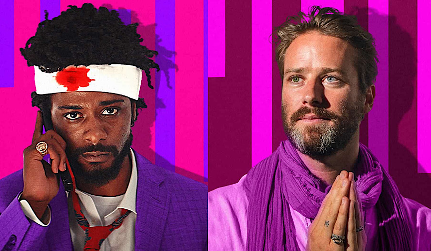 Hollywood Insider Sorry to Bother You Review, Lakeith Stanfield, Armie Hammer