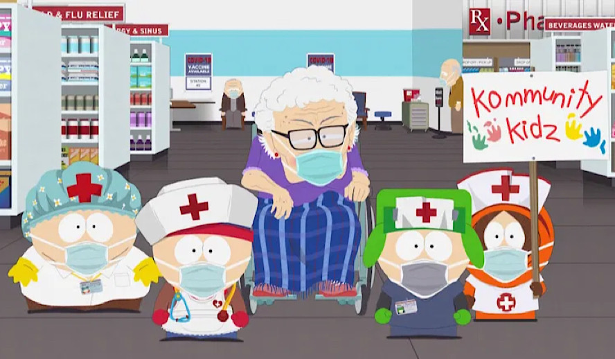 Hollywood Insider South Park Vaccination Special