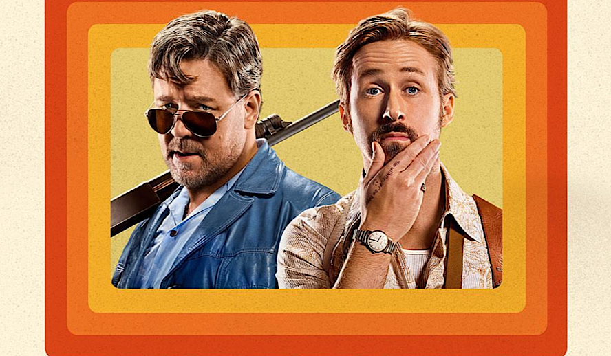 Hollywood Insider The Nice Guys Review, Ryan Gosling, Russell Crowe