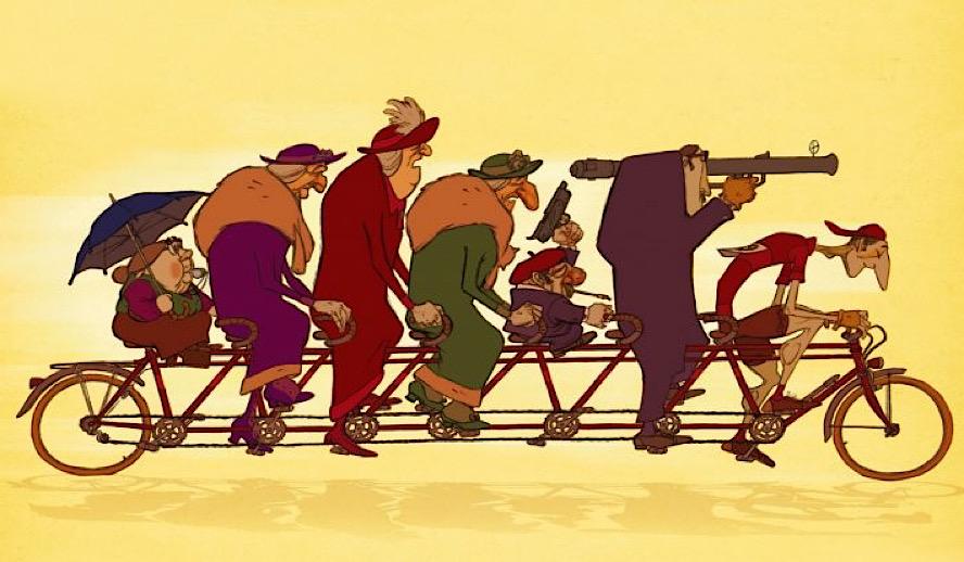 Hollywood Insider Triplets of Belleville Tribute, Animation