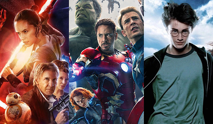 Hollywood Insider Crafting Movie Franchises, Avengers, Star Wars, Harry Potter