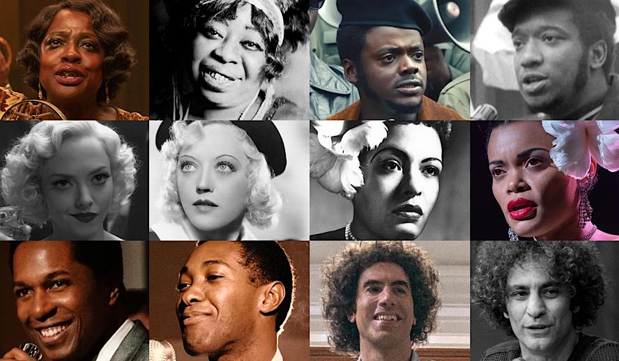Hollywood Insider Oscar Nominated Performances, Real Life Figures, Oscars 2021