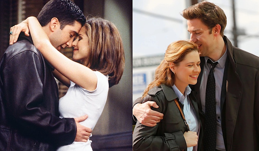 Hollywood Insider Ross and Rachel or Jim and Pam, Sitcom Couples Romance Showdown