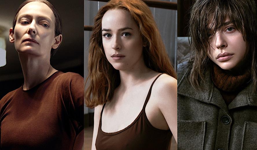 Hollywood Insider Suspiria Review, 2018, Luca Guadagnino, Dakota Johnson, Tilda Swinton, Chloe Grace Moretz