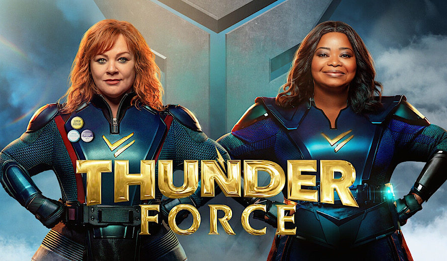 Hollywood Insider Thunder Force Review, Melissa McCarthy, Octavia Spencer