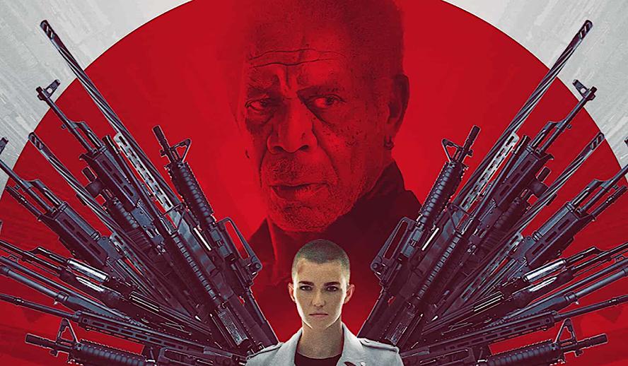 Hollywood Insider Vanquish Review, Morgan Freeman, Ruby Rose