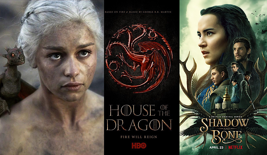 Hollywood Insider High Fantasy, Shadow and Bone, Game of Thrones, House of Dragon