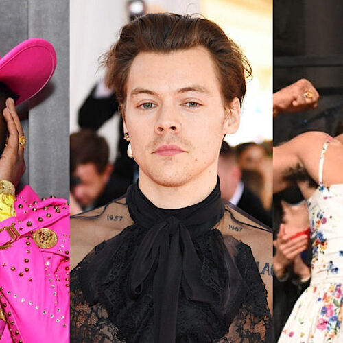 How These Men In The Music Industry Are Redefining Masculinity | Lil Nas X, Harry Styles, Kid Cudi & More