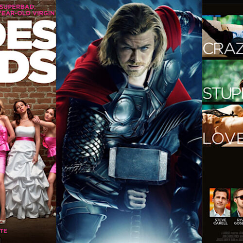 These 6 Iconic Films Turn 10 This Year - From 'Thor', 'Crazy, Stupid, Love' to 'Bridesmaids'