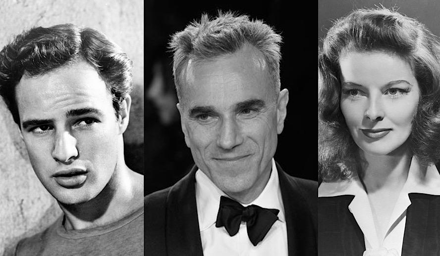 Hollywood Insider Actors and Acting Tropes, Marlon Brando, Daniel Day Lewis, Katharine Hepburn