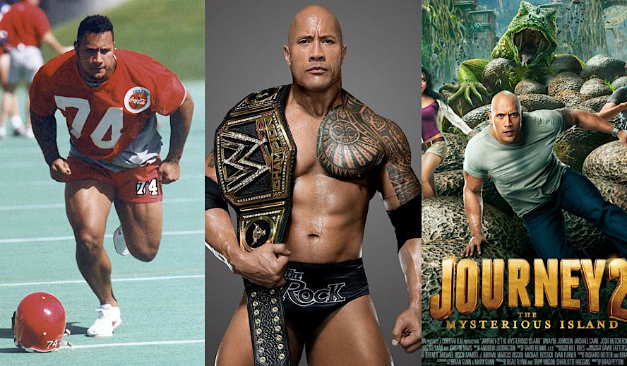 Hollywood Insider Blending Sports and Hollywood, Dwayne Johnson, The Rock