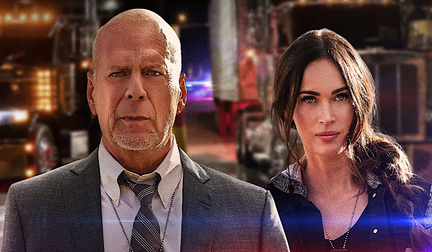 Hollywood Insider Midnight in the Switchgrass Review, Megan Fox, Bruce Willis, Lukas Haas