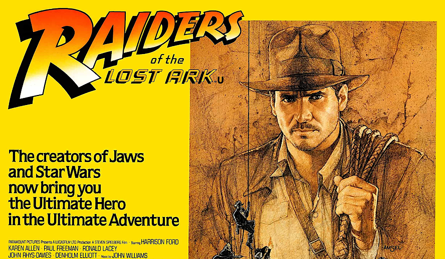 Hollywood Insider Raiders of the Lost Ark Review, Harrison Ford, Steven Spielberg, George Lucas