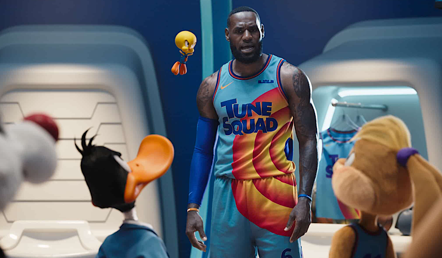 Hollywood Insider Space Jam: A New Legacy Review, LeBron James, Fin Cheadle, Zendaya