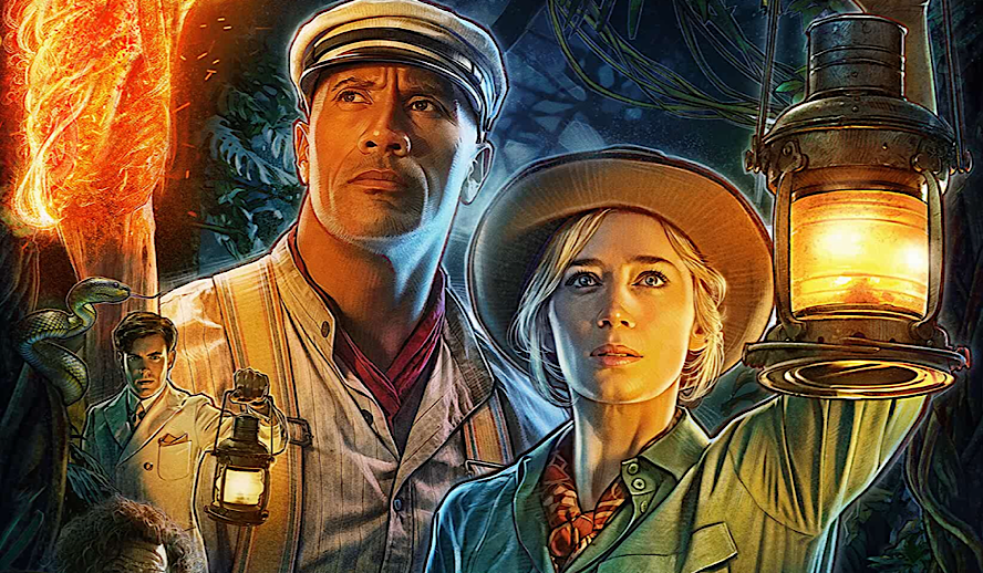 Hollywood Insider Jungle Cruise Review, Emily Blunt, Dwayne Johnson