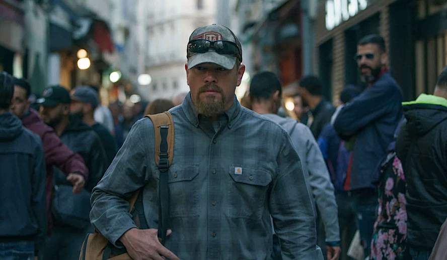 Hollywood Insider Stillwater Review, Matt Damon