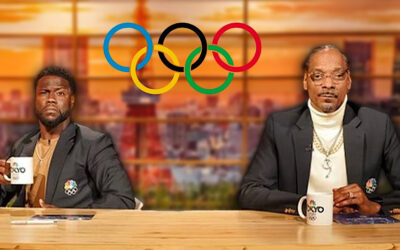 """Snoop Dogg Puts On the """"Olympic Flavor"""" As He Comments And Interviews Olympian Athletes"""