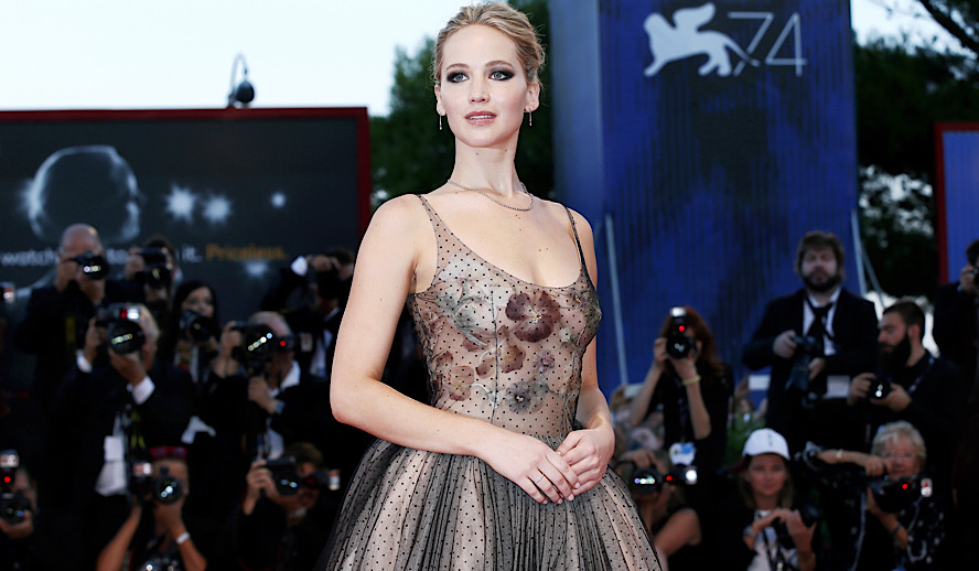 The Hollywood Insider Jennifer Lawrence, 78th Venice Film Festival