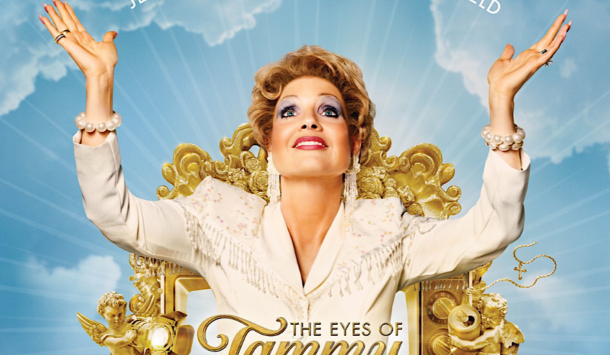 The Hollywood Insider The Eyes of Tammy Faye Review, Jessica Chastain