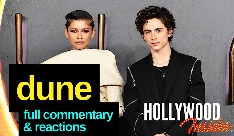 The Hollywood Insider Dune Commentary & Reactions