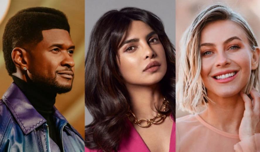 The Hollywood Insider The Activist CBS, Priyanka Chopra, Usher